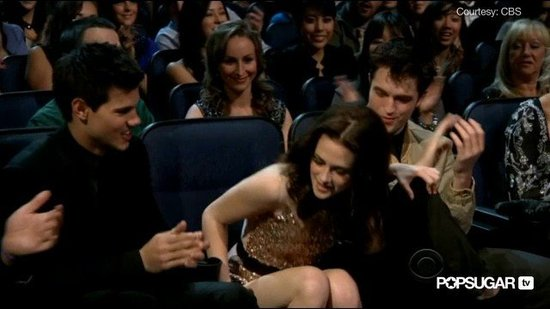 Watch Robert, Kristen, and Taylor's Memorable Moments at the People's Choice Awards!