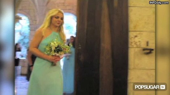 Video: Britney Spears Pops Up as a Bridesmaid In Her Best Friend's Wedding