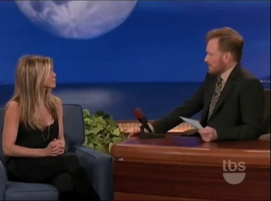 Video: Jennifer Aniston Laughs Off Ridiculous Rumors on Conan