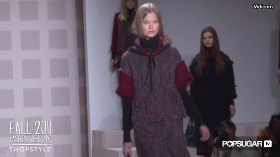 Tory Burch Runway Fall 2011 New York Fashion Week