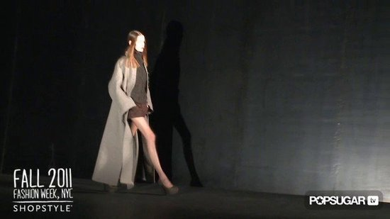 Theyskens' Theory Runway at New York Fashion Week Fall 2011