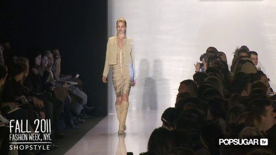 Herve Leger Runway New York Fashion Week Fall 2011