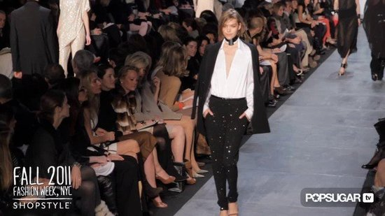 Michael Kors Fuses Three Decades of Fashion for Fall 2011