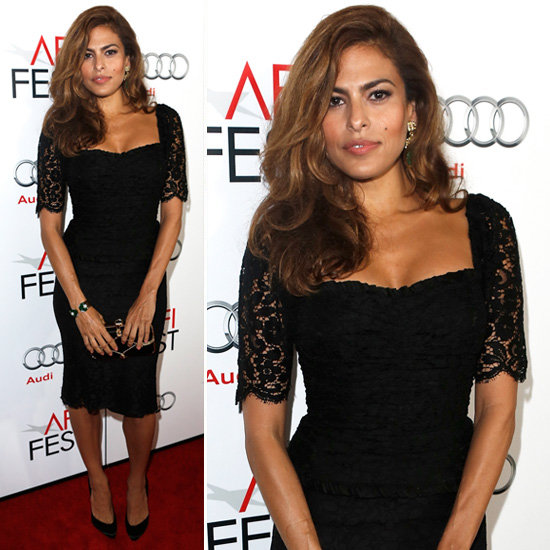 nail that retro vibe also check out other stars in black lace dresses