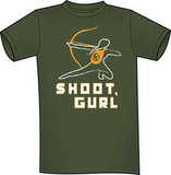 """Shoot, Gurl"" T-Shirt ($16)"