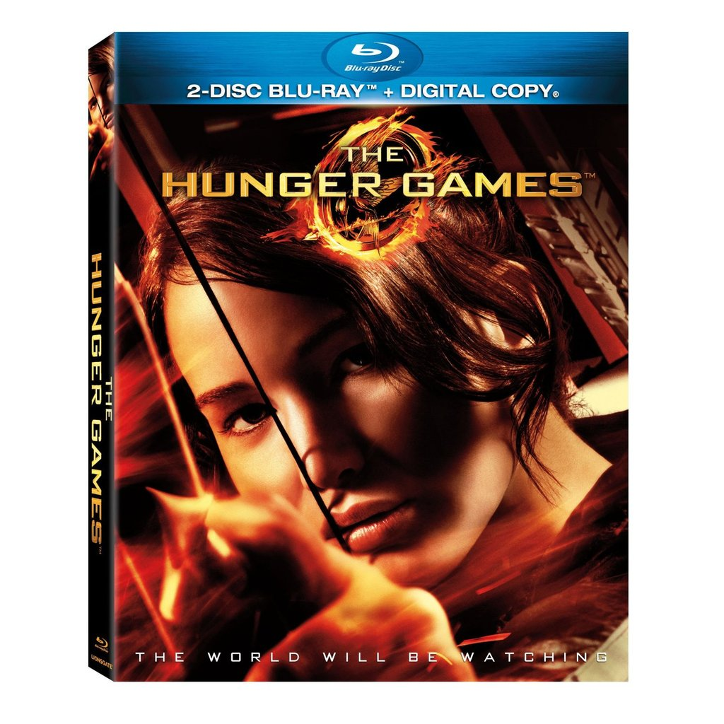 The Hunger Games 2-Disc Blu-ray ($25)