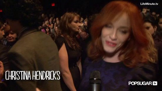 One-On-One With Christina Hendricks and Gabrielle Union Backstage at Carolina Herrera