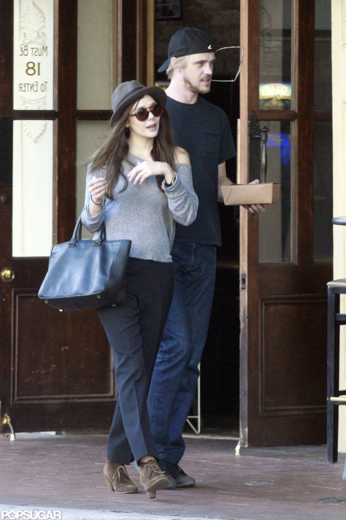 Elizabeth Olsen went out in New Orleans with Boyd Holbrook.