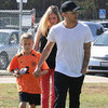 Ryan Phillippe With His Girlfriend at Deacon&#039;s Soccer Game