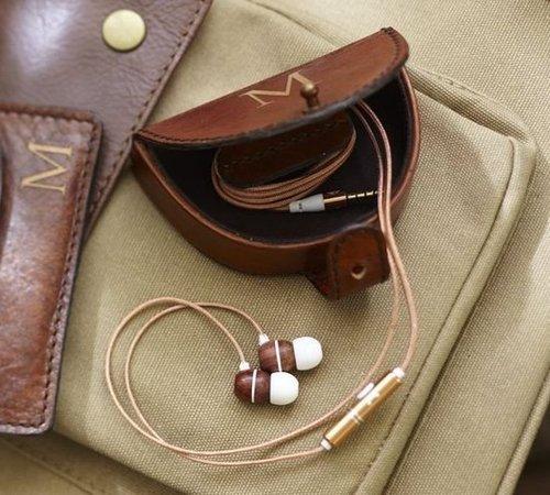 Saddle Leather Earphone Case
