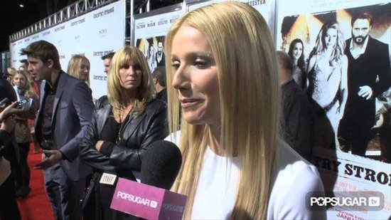 Gwyneth Paltrow Talks Glee Return at Country Strong Premiere