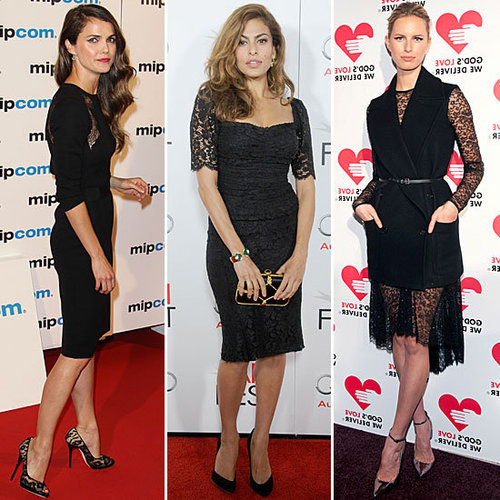 Celebrities Love the the Little Black Lace Dress: Shop it!