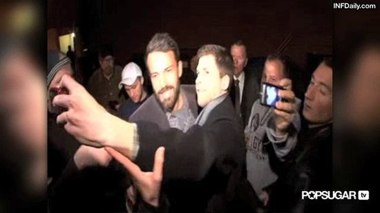 Video: Ben Affleck Breaks From Seraphina's Birthday For Night on the Town