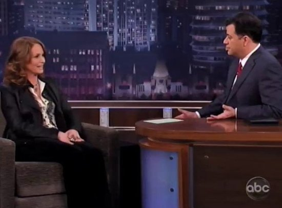 Jimmy Kimmel Helps Melissa Leo Prepare for the Oscars