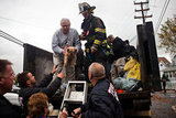 The FDNY got involved in helping residents and their pets evacuate before Hurricane Sandy hit.