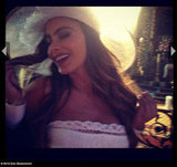 Eric Stonestreet took a glamour shot of Sofia Vergara on the set of Modern Family. Source: Eric Stonestreet on WhoSay