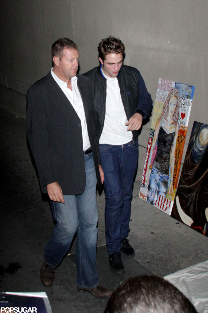 Robert Pattinson stepped out in Los Angeles.