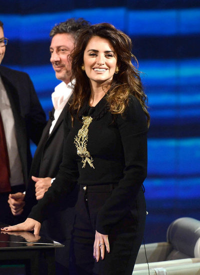 Penélope Cruz Gets Chatty Ahead of Javier's Hollywood Star