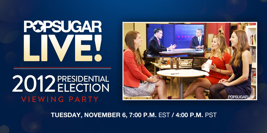 Join Us For Our LIVE Presidential Election Viewing Party!