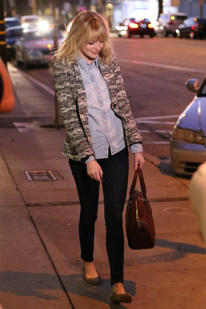 Birthday Girl Emma Stone Is All Smiles in LA