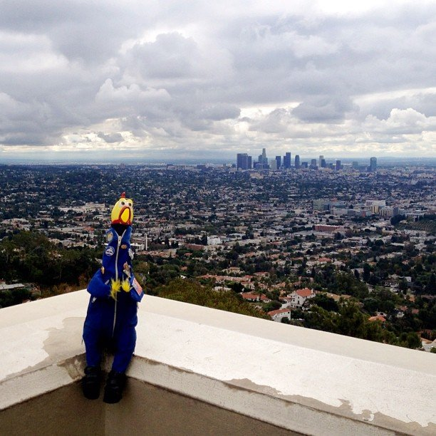 """Los Angeles - the town of Stars. I belong... #la #hollywood"" Source: Instagram user camillasdo"