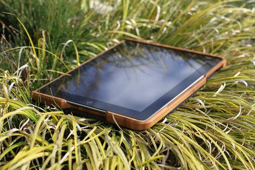 Groove Bamboo iPad Case