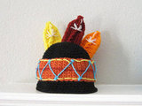 Crochet Feathers Hat