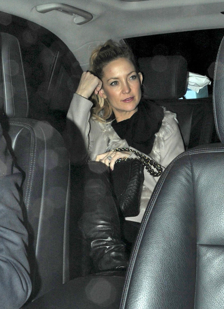 Kate Hudson stepped out in London.