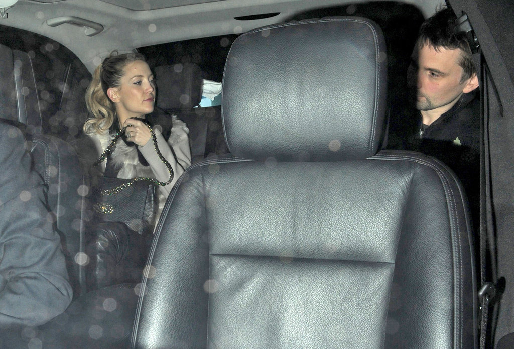 Kate Hudson and Matt Bellamy Leave the Kids at Home For a Date Night