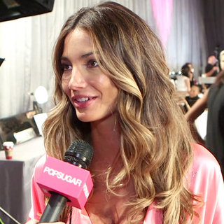 Lily Aldridge at Victoria's Secret Fashion Show (Video)