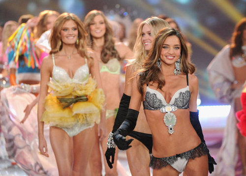Miranda Kerr was on the runway at the Victoria's Secret Fashion Show.