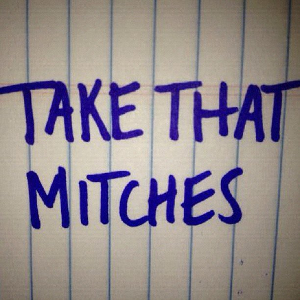 Beyoncé Knowles shared a note for Romney's team.  Source: Instagram user baddiebey