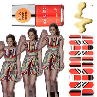 Nail Polish Like Kristen Stewart's Peter Pilotto Dress