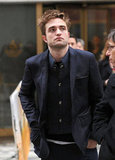 Robert Pattinson made an appearance on Today in NYC.