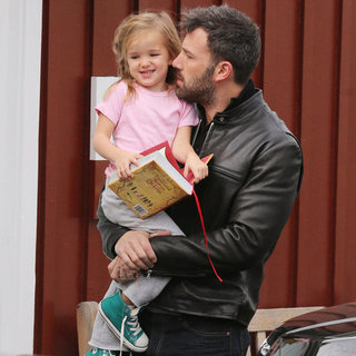 Ben Affleck Carrying Seraphina Affleck in LA | Pictures