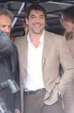 Javier Bardem was in high spirits in Hollywood.