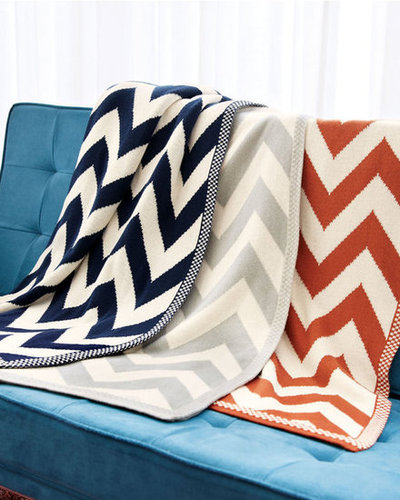 After a year in NYC, our apartment is still coming together; it needs pieces with personality to make it feel more like a home. I adore these Chevron throws ($198) — and even better, I think my boyfriend will too, so there won't be a fight about decorating. — Hannah Weil, associate editor