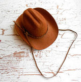 Fleur De Leigh Accessories Baby Cowboy Hat