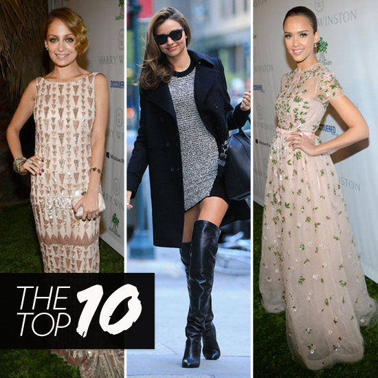 Top Ten Best Dressed Of The Week: Jessica, Nicole, Miranda & More