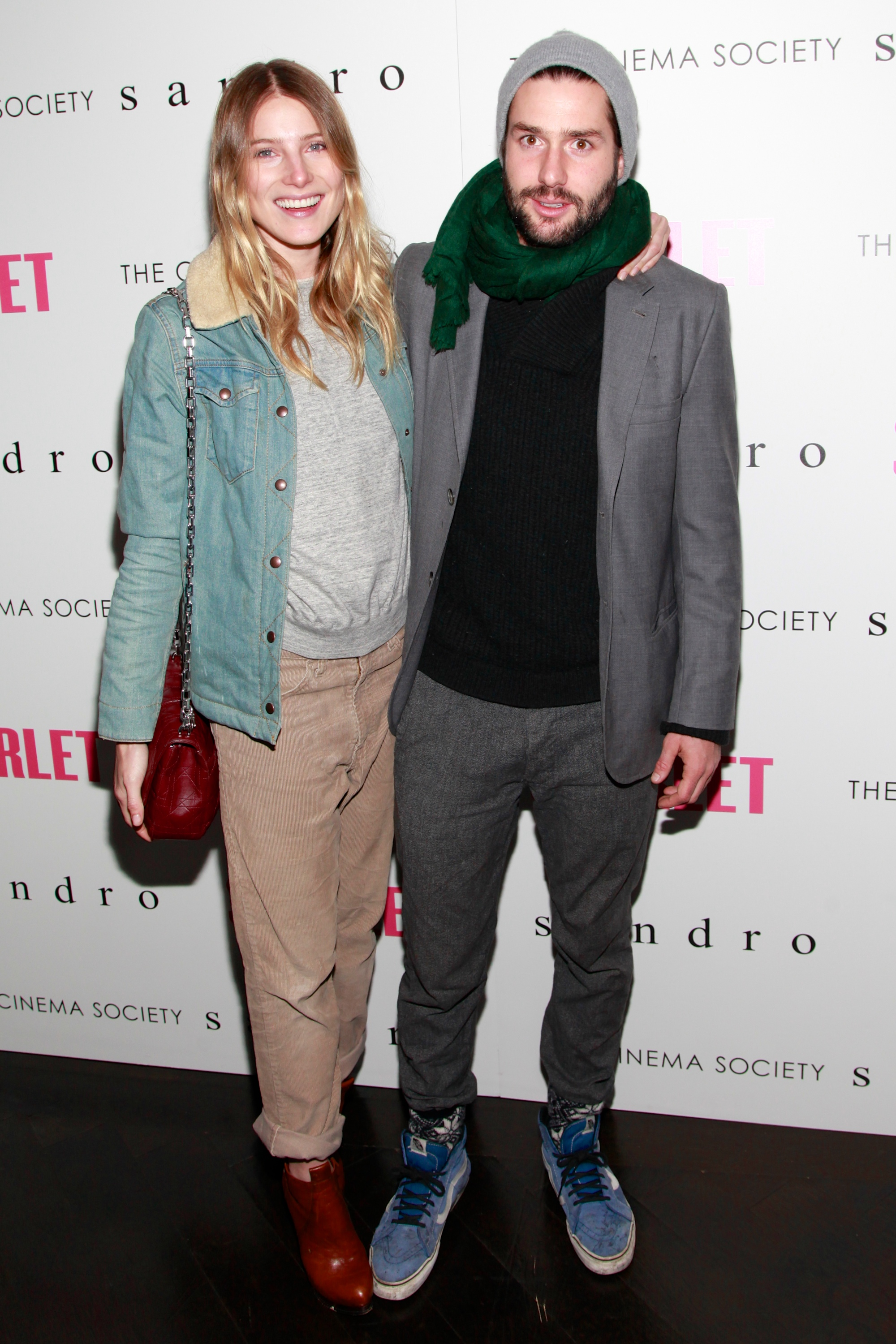 Dree Hemingway and Phil Winser