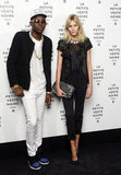 Anja Rubik and Theophilus London