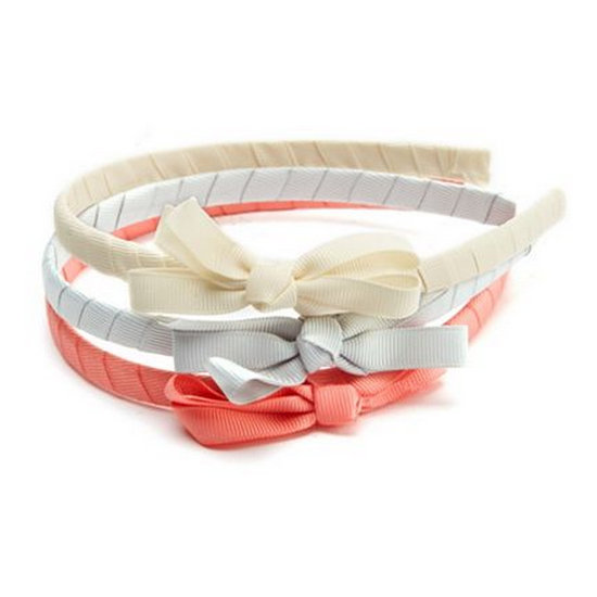 Charlotte Russe Ribbon Bow Headband Trio ($8)