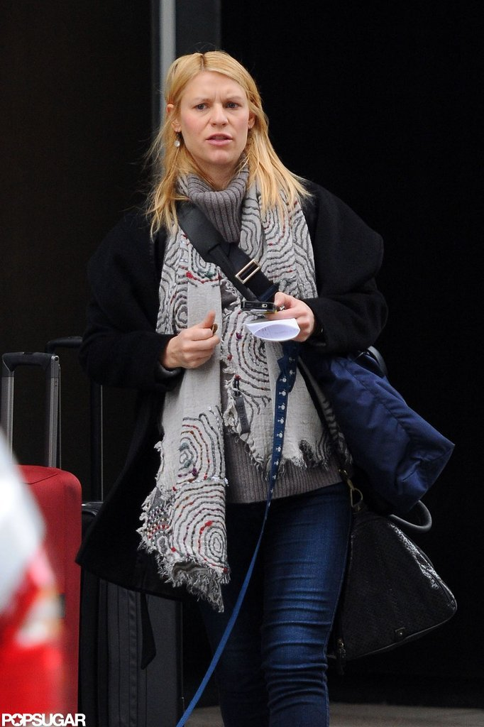 Claire Danes was out in NYC.