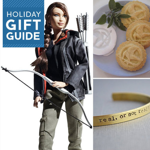 Buzz has plenty of gifts for fans of The Hunger Games, from essentials like DVD and book sets to cutesy apparel and accessories. Check them out, and may the gift-giving odds be ever in your favor.
