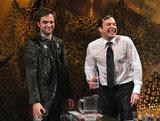 Robert Pattinson and Jimmy Fallon played a game on Late Night With Jimmy Fallon.