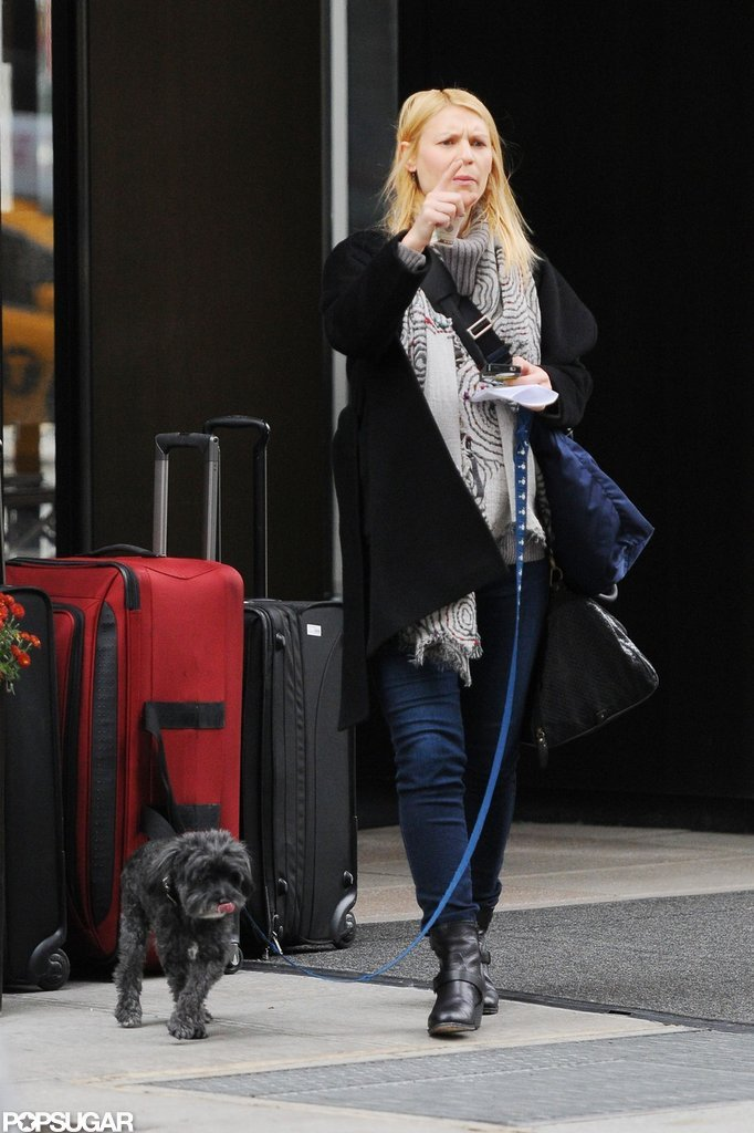 Claire Danes was out and about in NYC.