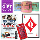 If you have a fan of the Windsors on your holiday list, TrèsSugar has some fun royal gifts that will make her go barmy!