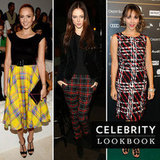 We're mad for plaid. Take a look at our favorite celebrity outfits.