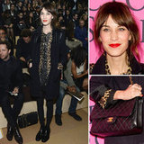 Alexa Chung showed us how to work lace and leopard.
