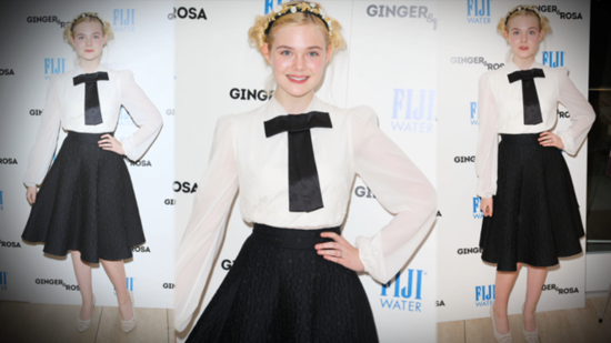 Elle Fanning Shows Off Her Fashion-Forward Style and Talks Vintage!